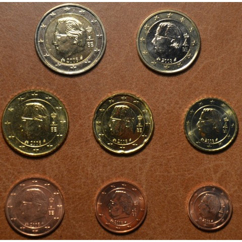 Set of 8 coins Belgium 2008 (UNC)