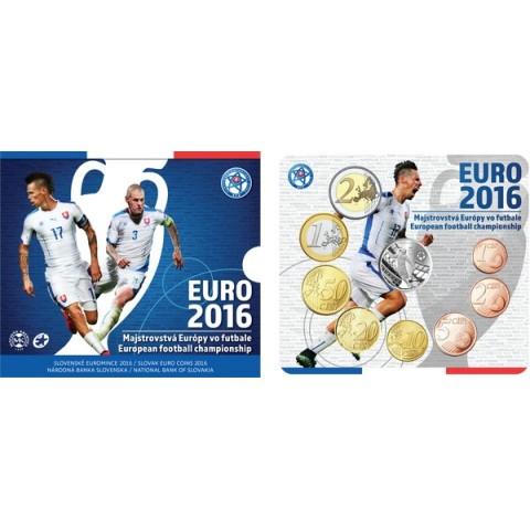 Set of 8 Slovak coins 2016 EURO