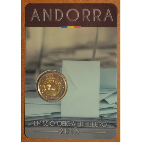 2 Euro Andorra 2014 - 30th anniversary of the Coming of Age and Political Rights (BU)