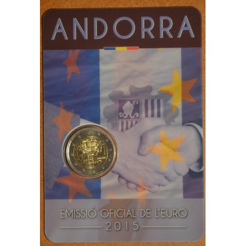 2 Euro Andorra 2015 - 25th anniversary of the Signature of the Customs Agreement with the European Union (BU)