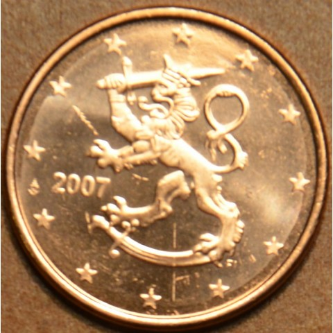 1 cent Finland 2007 (UNC)