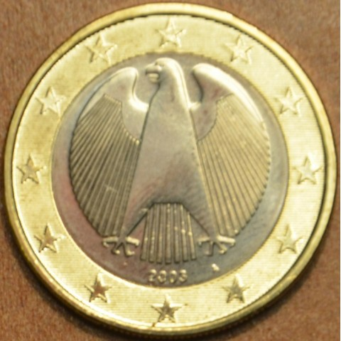 """1 Euro Germany """"A"""" 2003 (UNC)"""