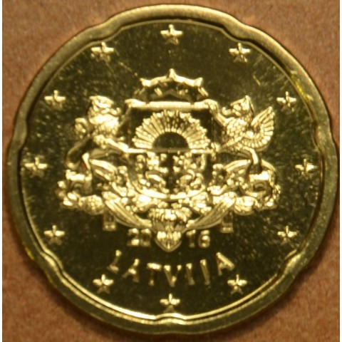 20 cent Latvia 2016 (UNC)
