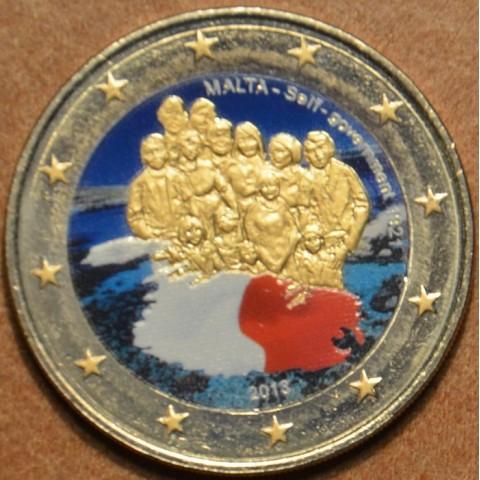 2 Euro Malta 2013 - 1921 Self Government II.  (colored UNC)
