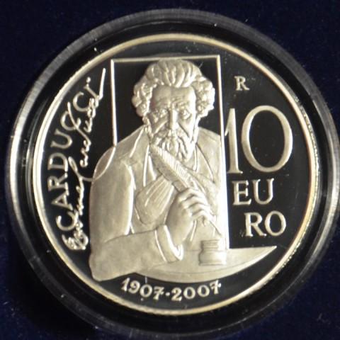 10 Euro San Marino 2007 - Giousé Carducci (Proof)