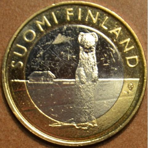 5 Euro Finland 2015 - Ostrobothnia - Stoat (UNC)