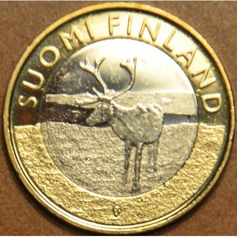 5 Euro Finland 2015 - Lapland - Reindeer (UNC)
