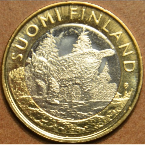 5 Euro Finland 2015 - Tavastia - Lynx (UNC)