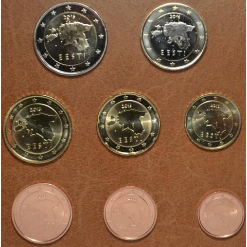 Set of 8 eurocoins Estonia 2016 (UNC)