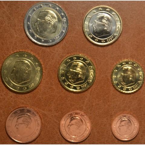 Set of 8 coins Belgium 2007 (UNC)
