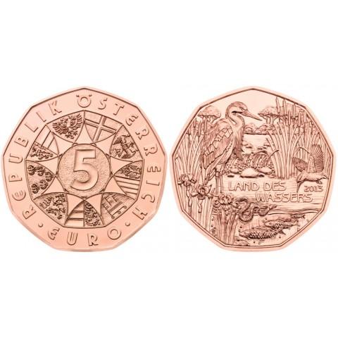 5 Euro Austria 2013 Land des Wassers (UNC)