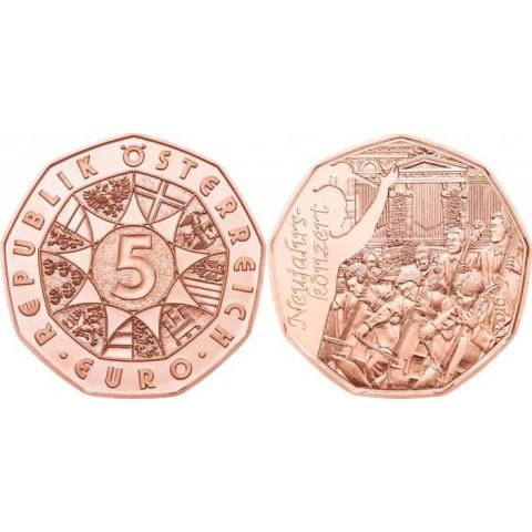 5 Euro Austria 2016 Neujahrskonzert (UNC)