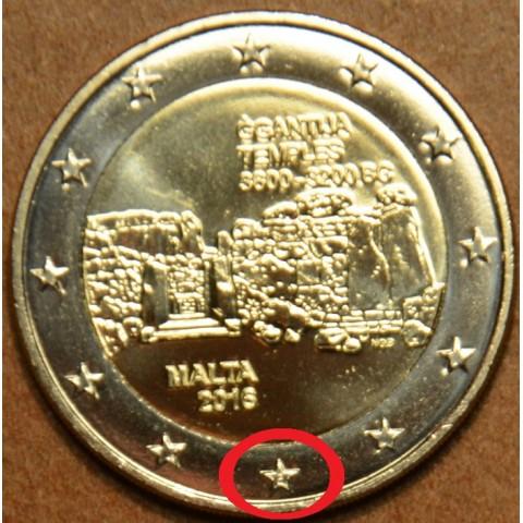 "2 Euro Malta 2016 ""F"" - Temples of Ggantija (UNC)"