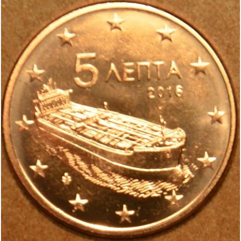 5 cent Greece 2016 (UNC)