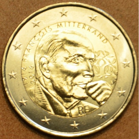 2 Euro France 2016 - Francois Mitterrand (UNC)