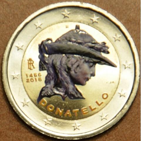 2 Euro Italy 2016 - 550th anniversary of the death of Donatello II. (colored UNC)