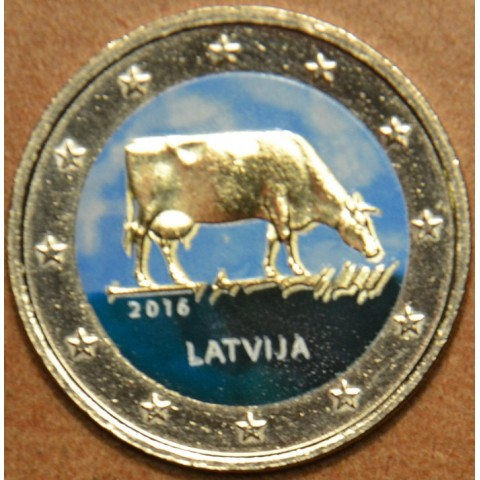 2 Euro Latvia 2016 - Latvian agricultural industry III. (colored UNC)