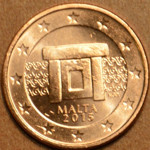 1 cent Malta 2015 (UNC)