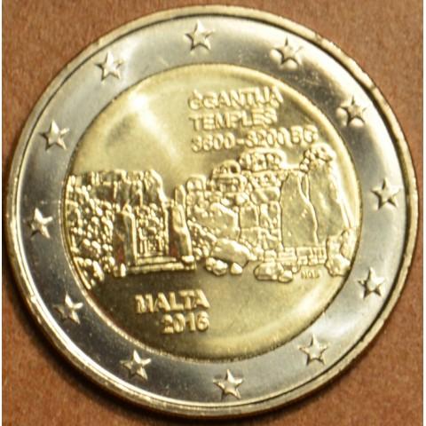 2 Euro Malta 2016 - Temples of Ggantija (UNC)