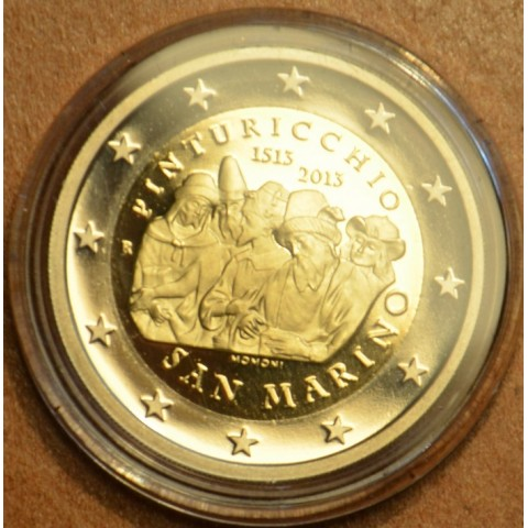 2 Euro San Marino 2013 - The 500th Anniversary of the Death of Malers Pinturicchio (Proof)