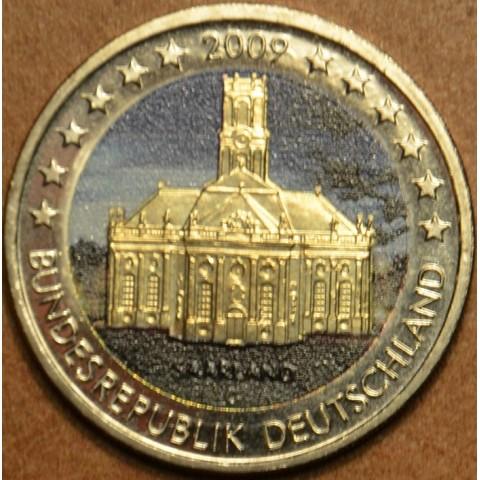 2 Euro Germany 2009 - Ludwigskirche in Saarbrücken II. (colored UNC)