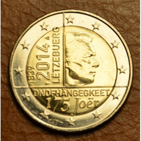 2 Euro Luxembourg 2014 - 175 years of independence (UNC)