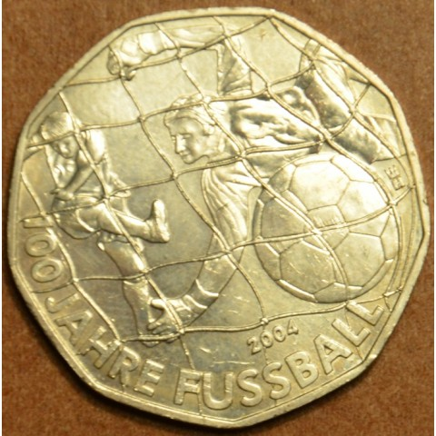 5 Euro Austria 2004 Football (UNC)