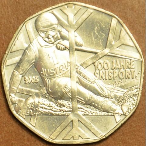 5 Euro Austria 2005 - 100 Years of Skiing (UNC)