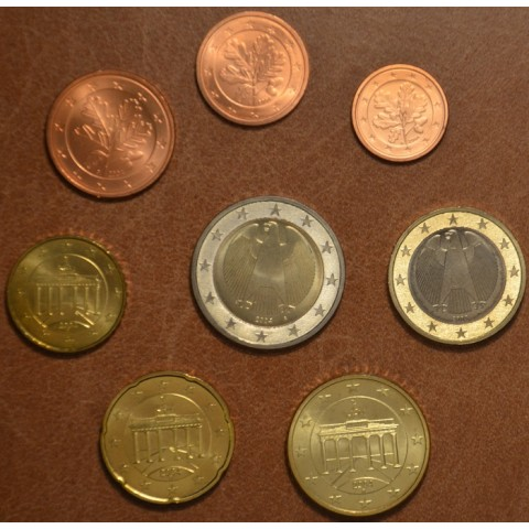 """Set of 8 coins Germany 2004 """"A"""" (UNC)"""