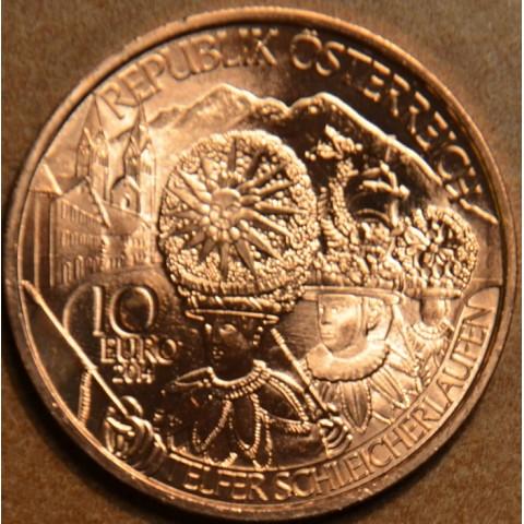 10 Euro Austria 2014 Tyrol (UNC)