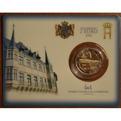 2 Euro Luxembourg 2016 - 50 Years of Grand Duchess Charlotte Bridge (BU card)