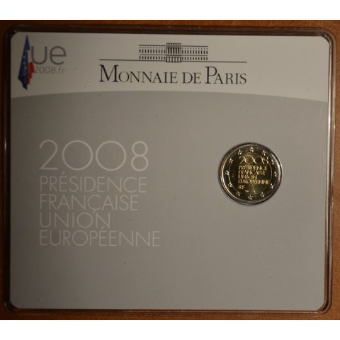 2 Euro France 2008 - French Presidency of the Council of the European Union (BU card)