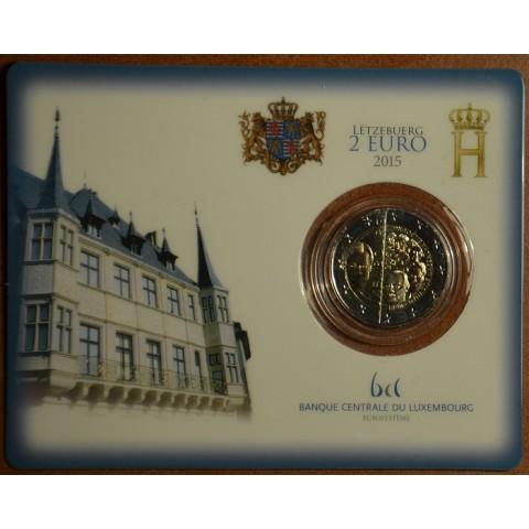 2 Euro Luxembourg 2015 - Dynasty Nassau-Weilburg (BU card)