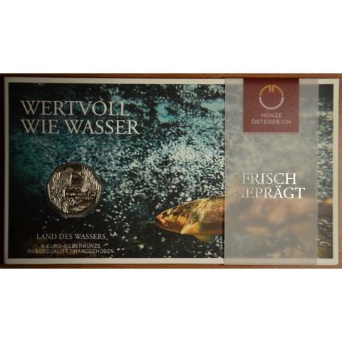 5 Euro Austria 2013 Land des Wassers (BU)