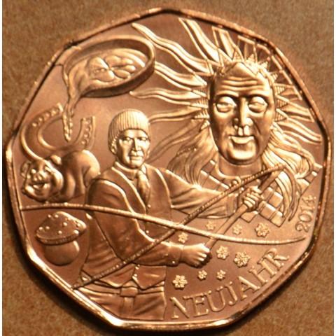 5 Euro Austria 2014 Gift of luck (UNC)