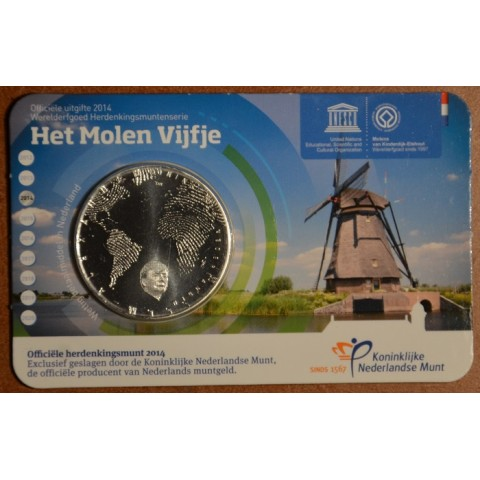 5 Euro Netherlands 2014 Mill (UNC card)