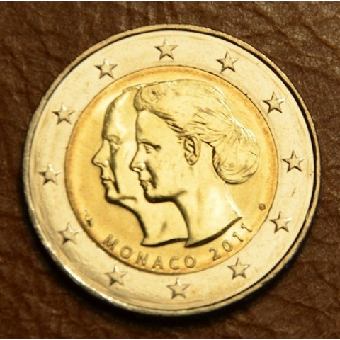 2 Euro Monaco 2011 - The wedding of Prince Albert and Charlene Wittstock (UNC)