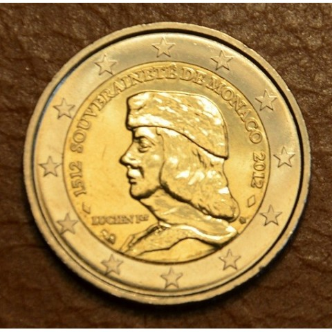 2 Euro Monaco 2012 - The 500th anniversary of the foundation of Monaco's Sovereignty (UNC)