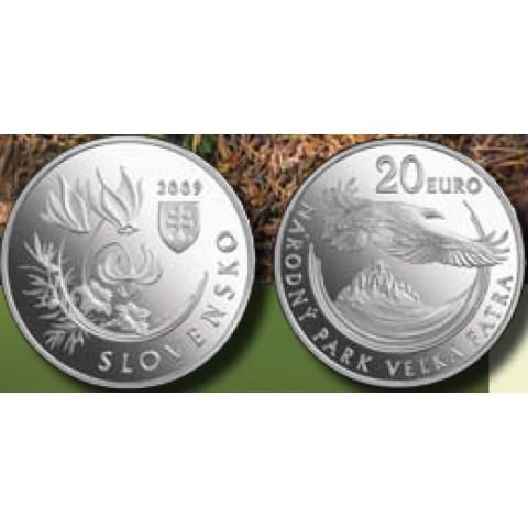 20 Euro Slovakia 2009 - High Fatras (BU)