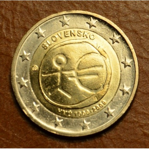 2 Euro Slovakia 2009 - 10th Anniversary of the Introduction of the Euro (UNC)