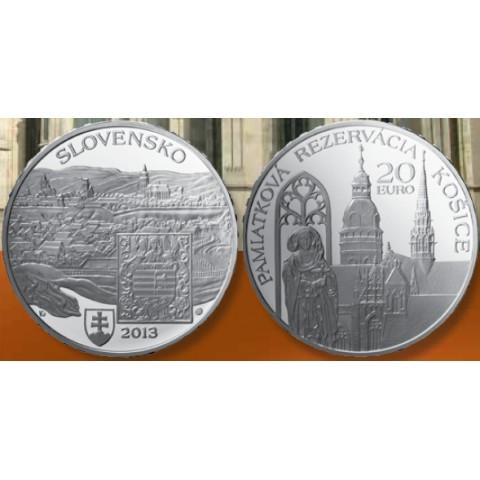 20 Euro Slovakia 2013 - Košice (BU)