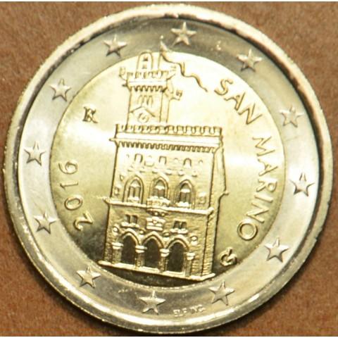 2 Euro San Marino 2016 - Government House (UNC)