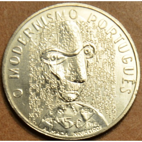 5 Euro Portugal 2016 - Modernismo (UNC)