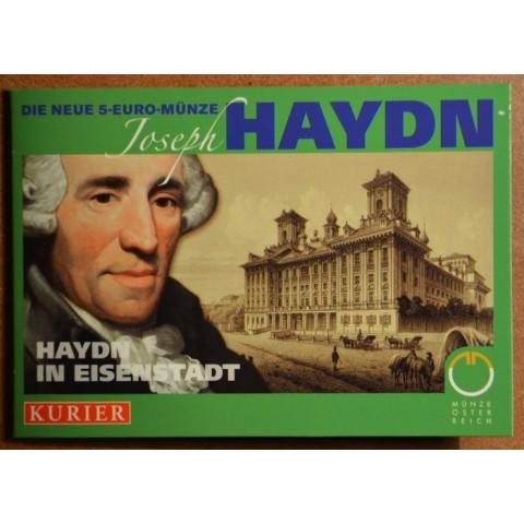 5 Euro Austria 2009 200th Anniversiary of the Death of Joseph Haydn (UNC)