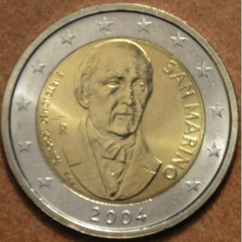 2 Euro San Marino 2004 - Bartolomeo Borghesi (UNC w/o folder)