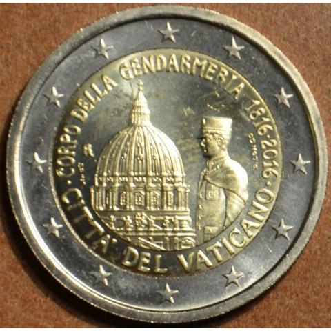 2 Euro Vatican 2016 - 200 years of Gendarmeria (wo folder)