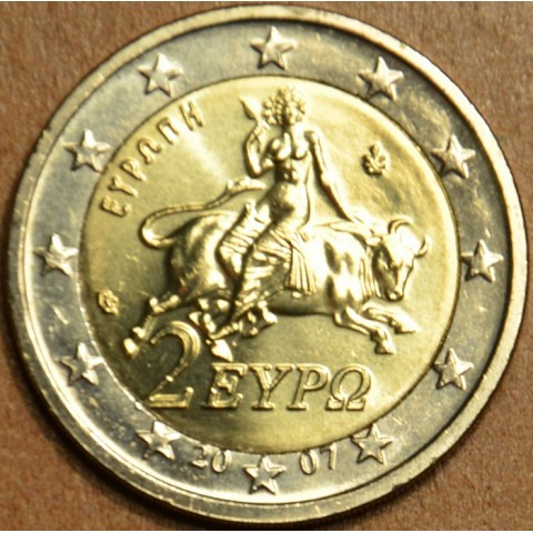 2 Euro Greece 2007 (UNC)