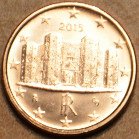 1 cent Italy 2015 (UNC)