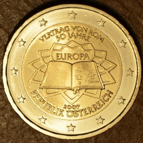 2 Euro Austria 2007 - 50th anniversary of the Treaty of Rome (UNC)