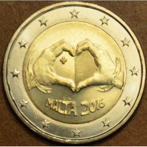 2 Euro Malta 2016 - Love (UNC)